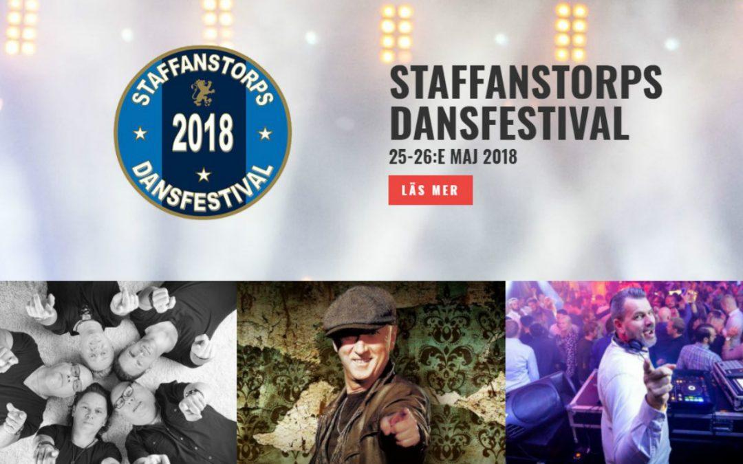 Snart dags för Staffanstorps Dansfestival!
