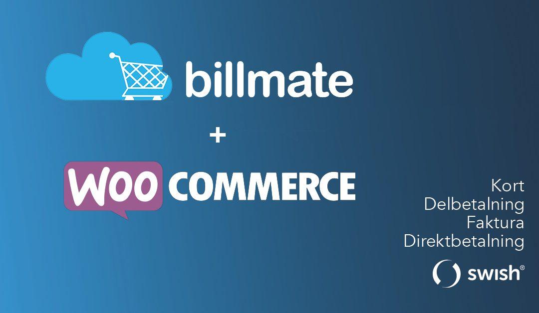 Billmate betalmodul version 3.20 är nu släppt för WooCommerce!