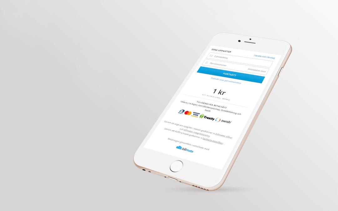 Ny version av Billmate Checkout är lanserad!