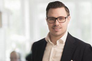 Andreas Johansson, CFO på Invoice Group.
