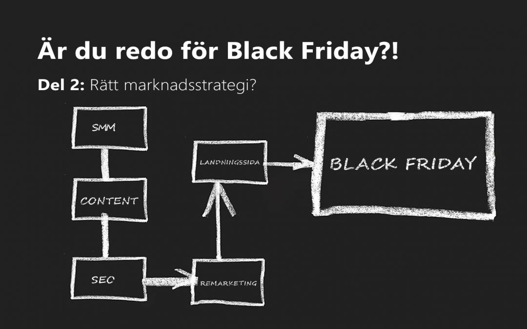 Ta tag i din marknadsstrategi inför Black Friday